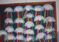 paper plate rainbow craft idea