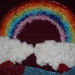 rainbow bulletin board idea for kids (3)
