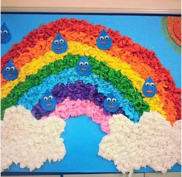 rainbow-bulletin-board-idea-for-kids