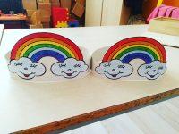 rainbow headband craft