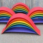 rainbow mobile craft idea