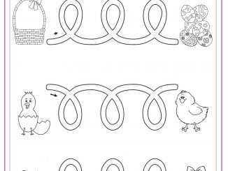 easter worksheet for kids