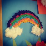 easy rainbow craft idea