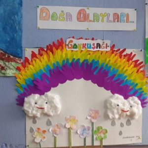 handprint rainbow craft idea