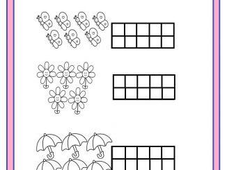 number coloring worksheet