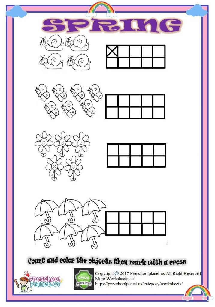 number coloring worksheet