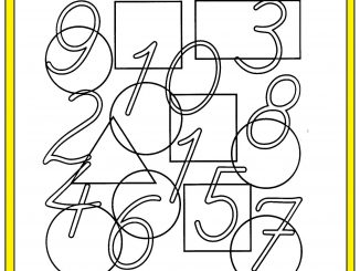 number hunt worksheet for kids