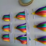 rainbow craft idea for toddlers