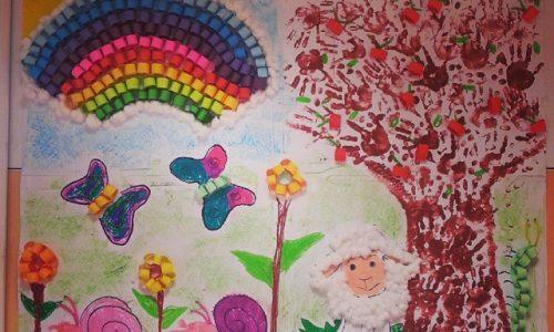 spring bulletin board ideas preschool
