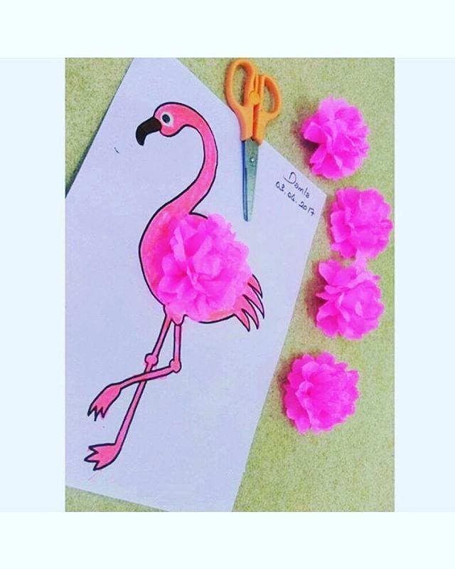 flamingo-craft-idea-for-kids