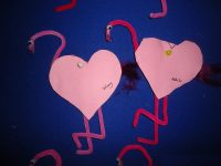 heart-flamingo-craft-idea-for-kindergarten
