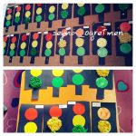 traffic signal art and craft idea for kindergarten