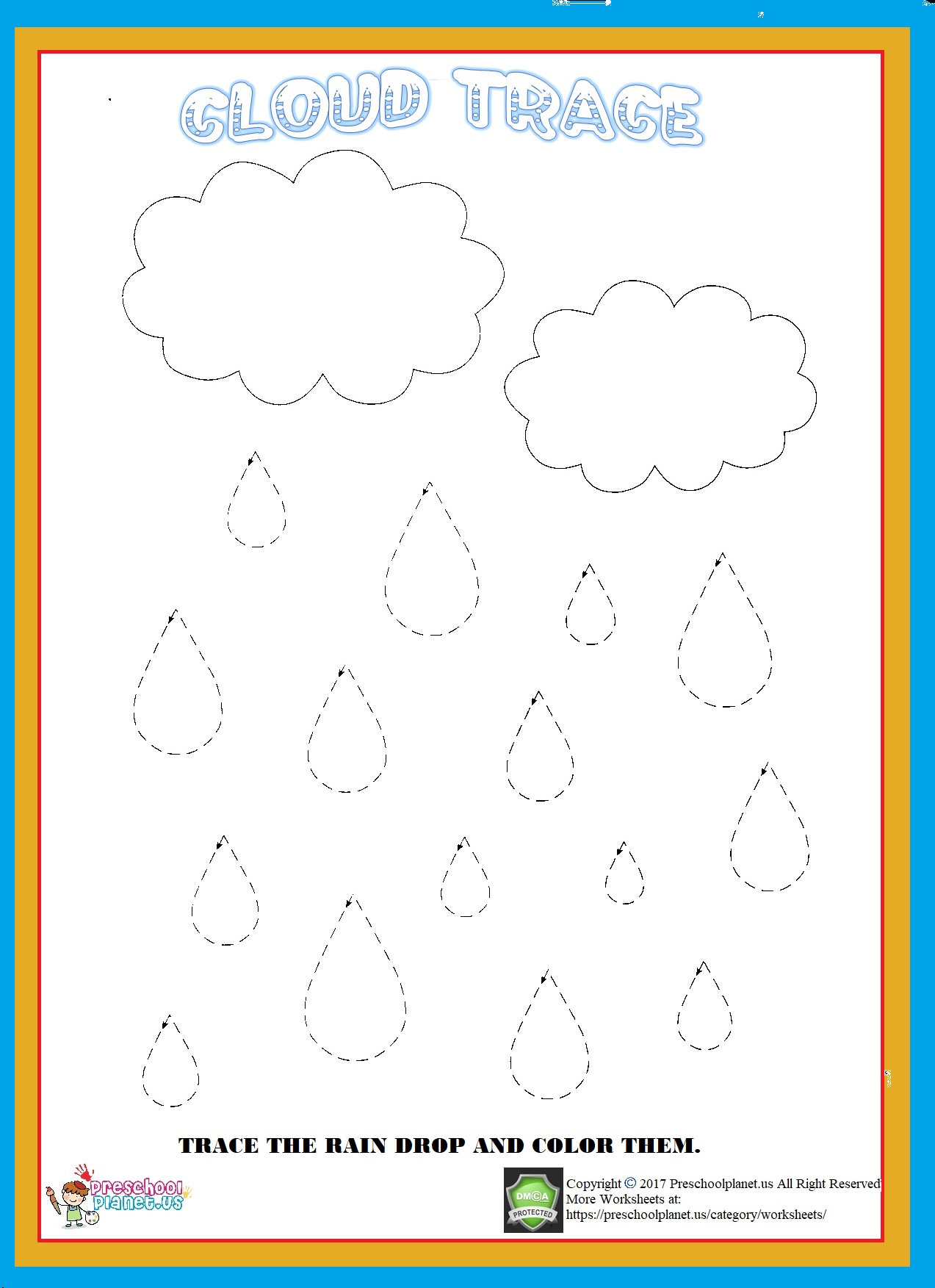 cloud trace worksheet