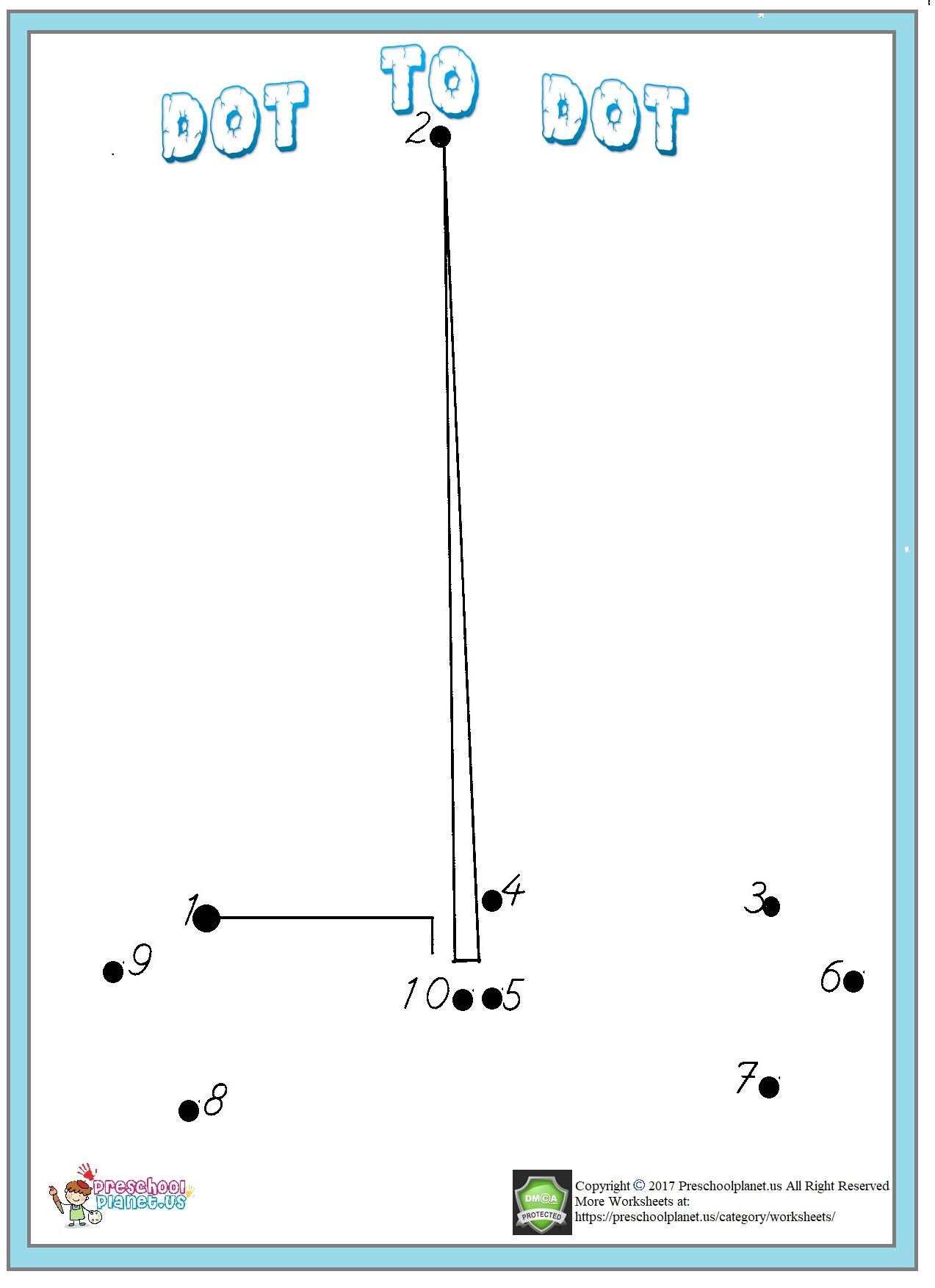 dot to dot worksheet