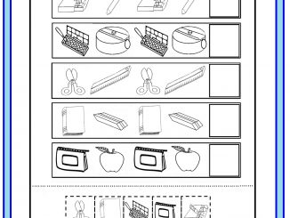 Early Years worksheet