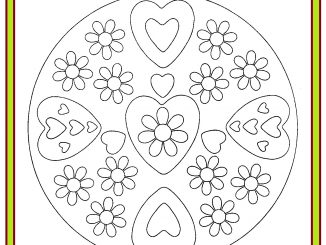 Mother's Day Mandala