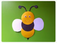 circle-bee-craft-idea