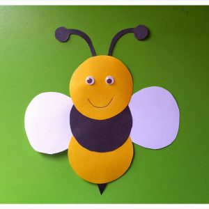 circle-bee-craft-idea