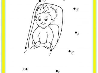 easy dot to dot worksheet printable archives preschoolplanet