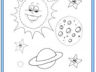 space trace worksheet