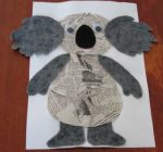 Koala-craft-idea-with-newspaper