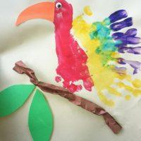 handprint-parrot-craft-idea