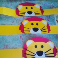 lion-head-band-craft-idea
