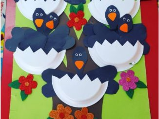 paper-plate-crow-craft-idea