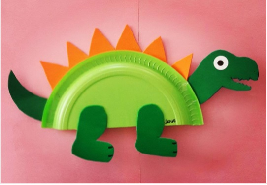paper-plate-dinosaur-craft-idea-for-kids
