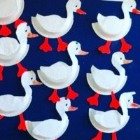 paper-plate-duck-craft-idea