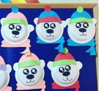 paper-plate-polar-bear-craft-idea