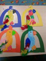 parrot-craft-idea-for-kindergarten