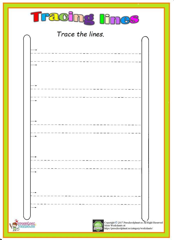 trace stair worksheet