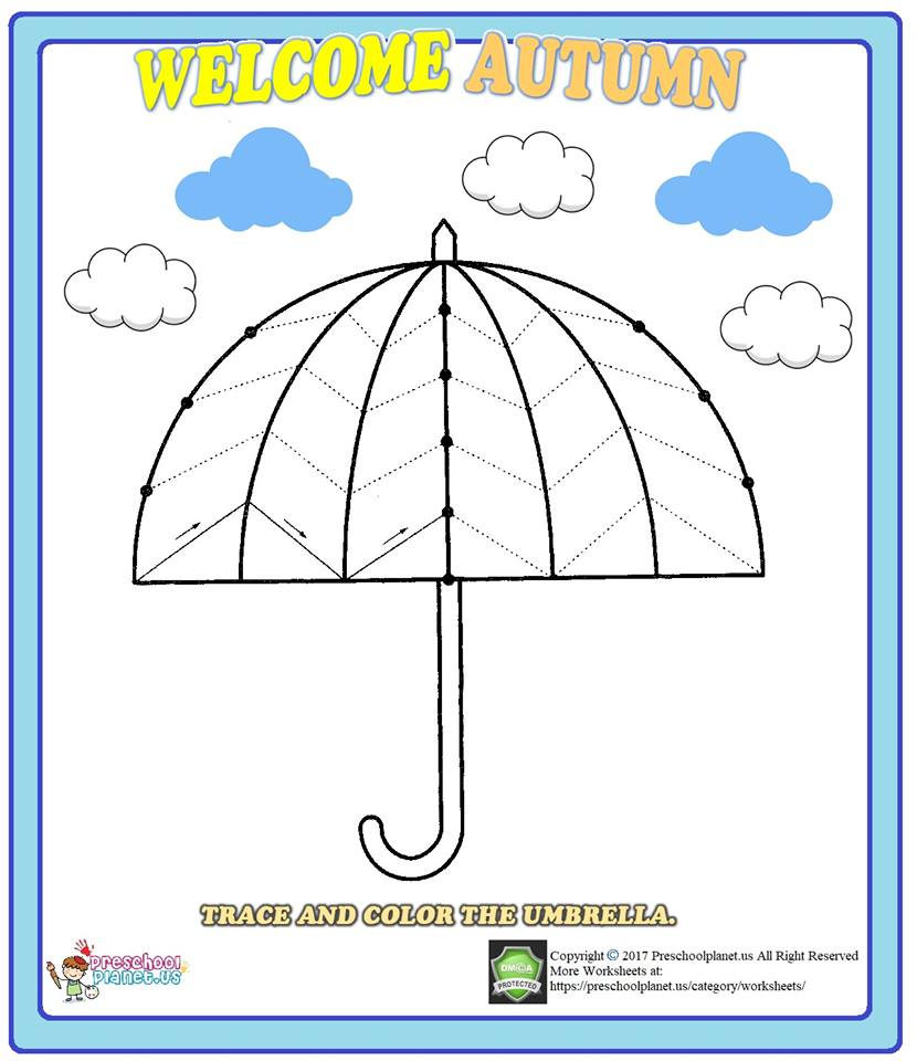 umbrella trace worksheet