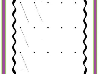 diagonal lines worksheet