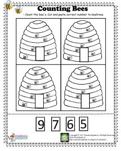 Counting Bee Worksheet