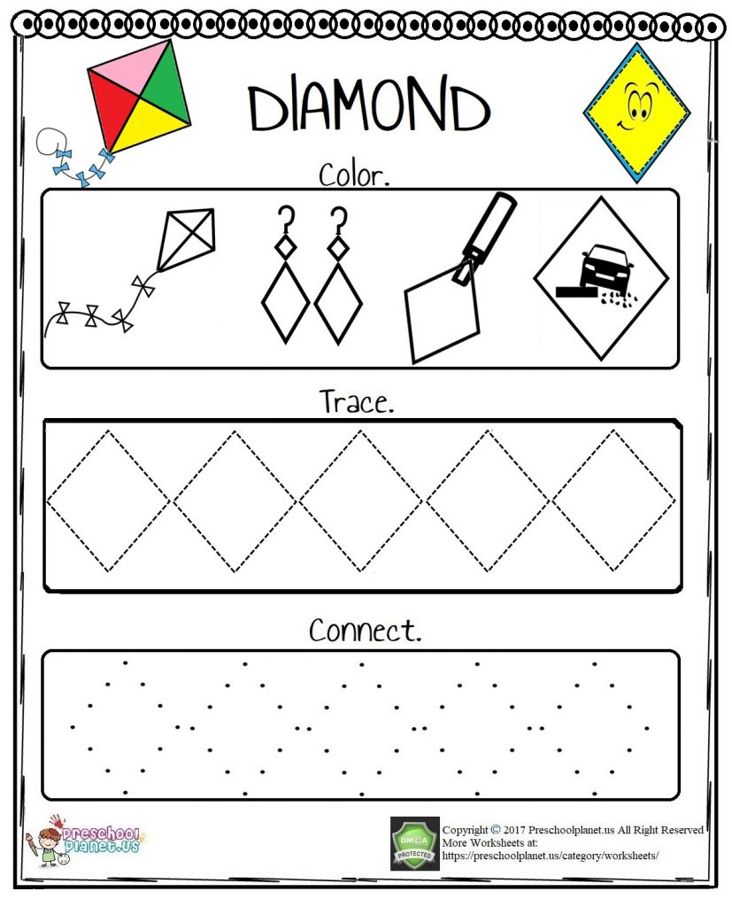 Diamond Worksheet