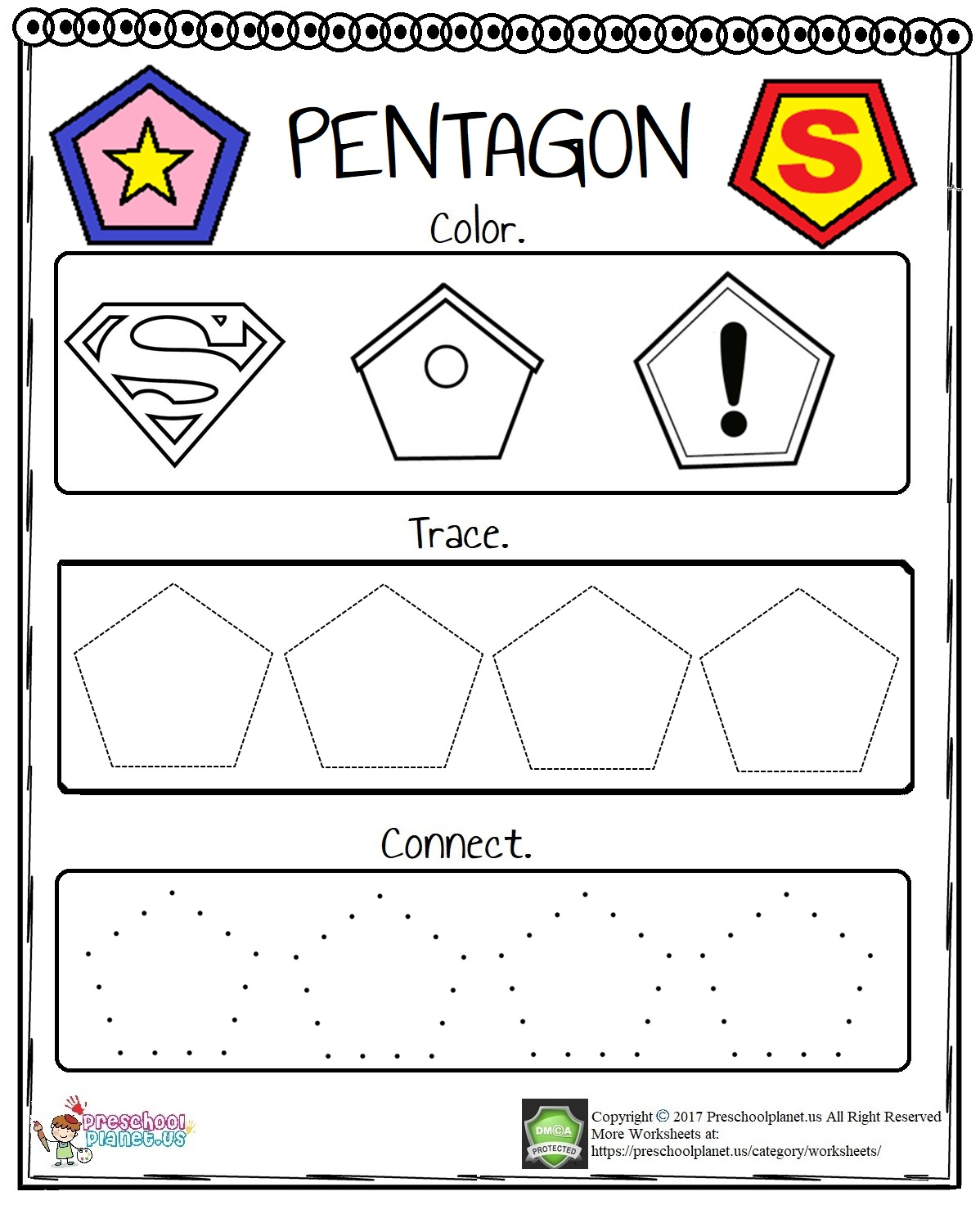 Pentagon-Worksheet