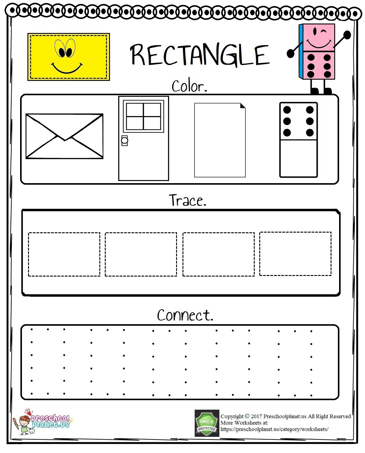 Rectangle-Worksheet