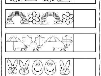 Spring Pattern Worksheet
