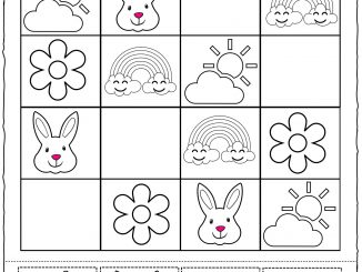 Spring Sudoku Worksheet