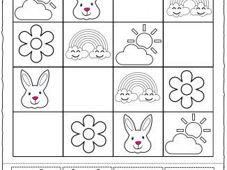 Spring Sudoku Worksheet