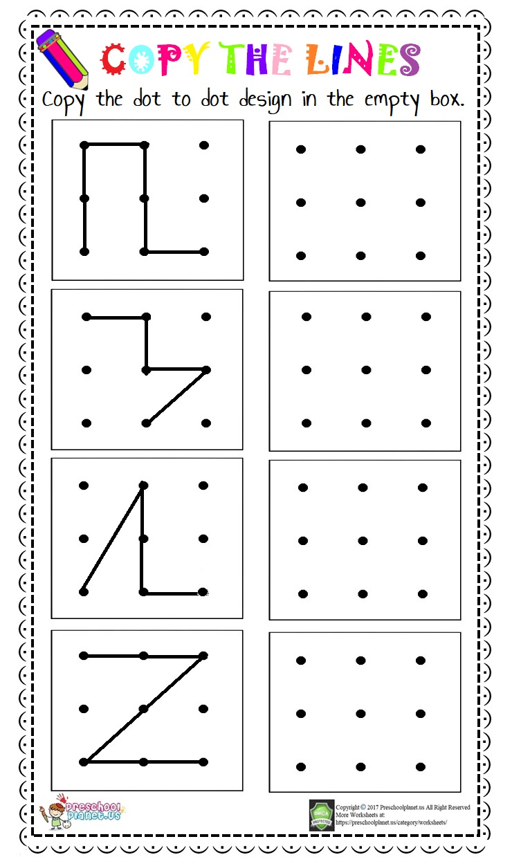 Spatial Skills Worksheets