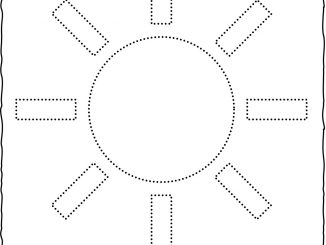 Sun Trace Worksheet