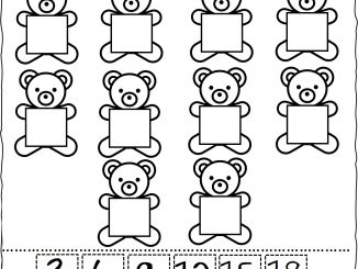 Skip Counting By 3's Worksheet