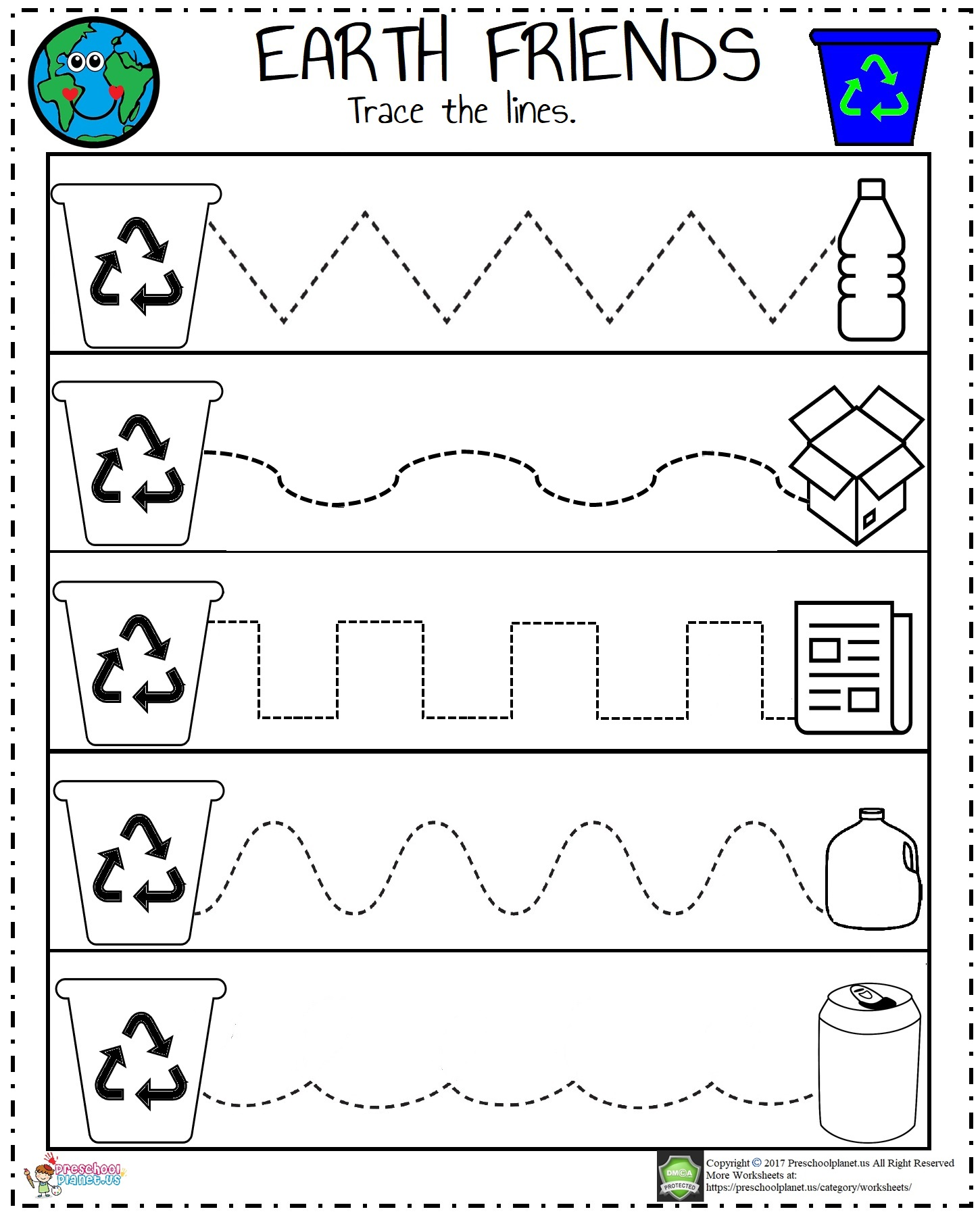 recycle-worksheet